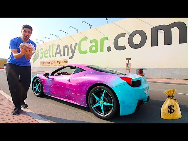 I took my Ferrari to SellanyCar: This is the Cash they offered me