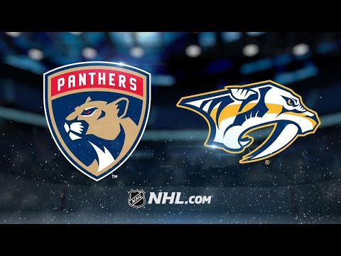 Fiala, Predators defeat Panthers, 4-3