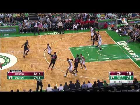 Robin Lopez Double Double - Game 1 vs Boston Celtics - 2016/17 Playoffs