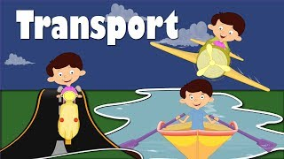 Modes of Transportation | Videos for Kids | It