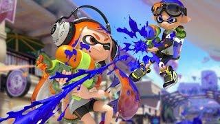 CGR Undertow - SPLATOON review for Nintendo Wii U