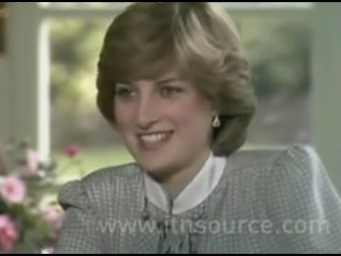 Documentary 2017 - Lady Diana and Prince Charles interview before their wedding