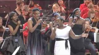 MOBO Nominee BEVERLEY TROTMAN (XFactor) & THE ALL SOULS ORCHESTRA Royal Albert Hall 2010.