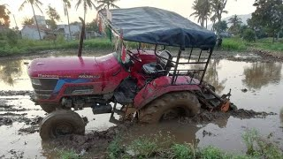 Mahindra B275 di tractor stuck in sand|Mahindra tractor with trolley|Mahindra 275 DI pulling power