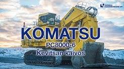 Komatsu PC8000 FS E - Kevitsan kaivoksella