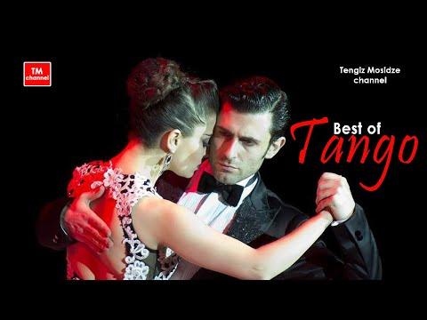 """Argentine tango. """"Gallo Ciego"""". Fernando Gracia and Sol Cerquides with """"Solo Tango"""" orquesta. Танго."""