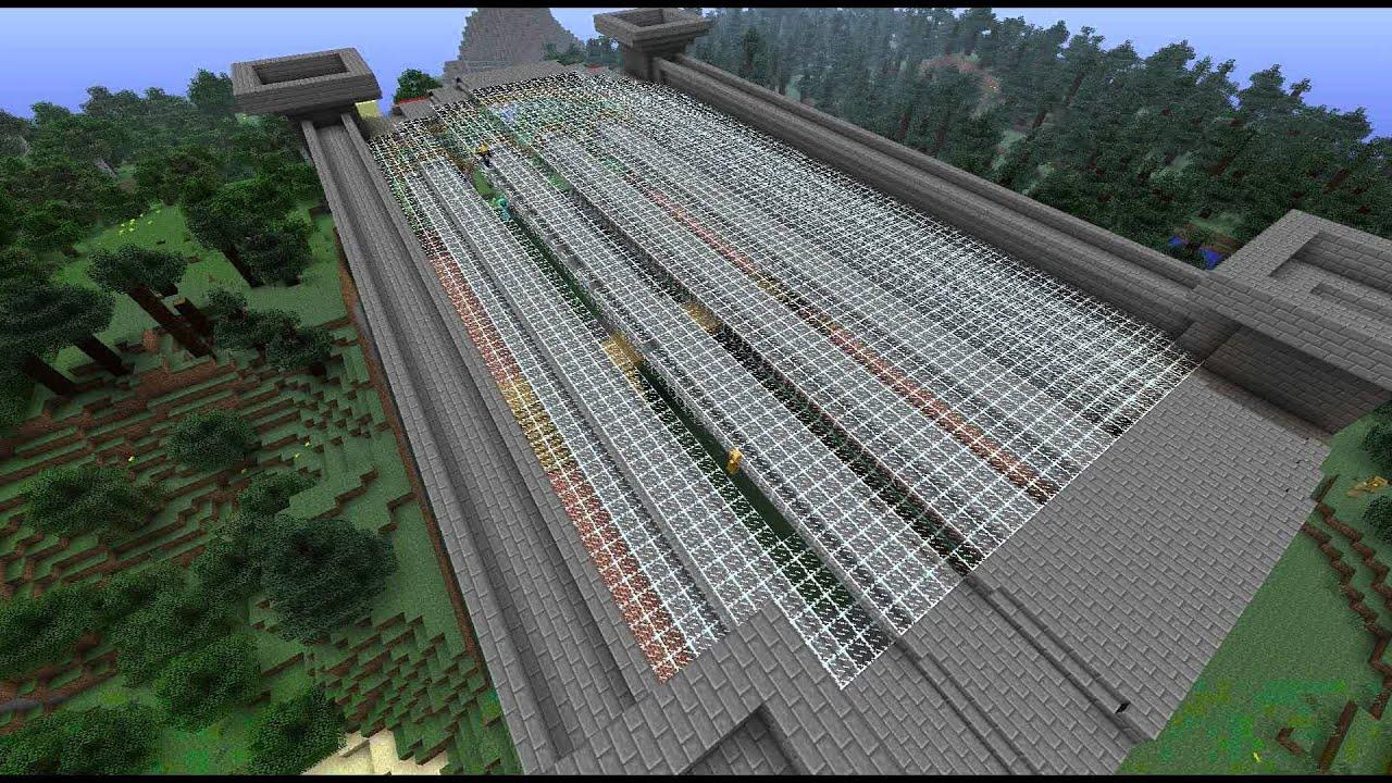 Minecraft Train Station Build