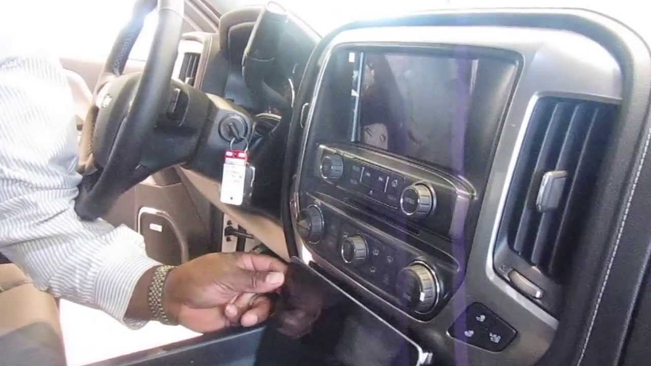 2014 Chevrolet Silverado Interior Features Youtube