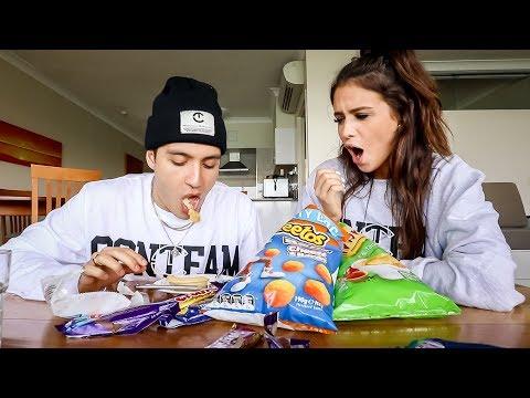 American Husband Ranks Australian Snacks!