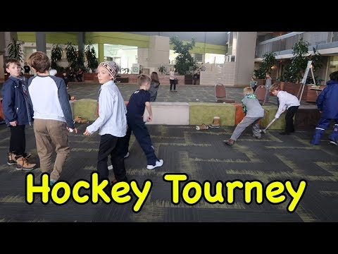 Kids HocKey HorseShoe Tournament In Canada and Hotel Knee Hockey