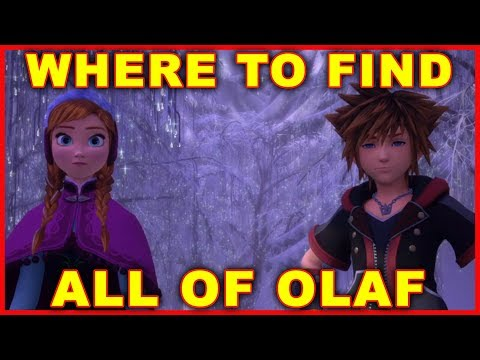 Kingdom Hearts 3: Where to Find Olaf's Parts (Frozen World)