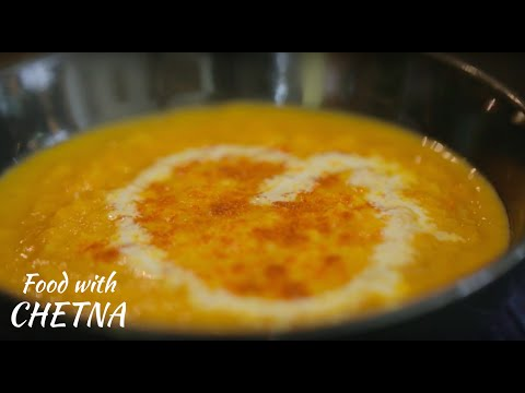 How to make Healthy and Delicious tomato and lentil soup - Food with Chetna