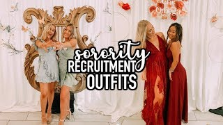 Outfits of the Week | Sorority Recruitment