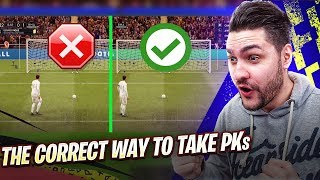 FIFA 20 HOW TO MAKE YOUR PENALTIES IMPOSSIBLE TO DEFEND !!! FIFA 20 TUTORIAL