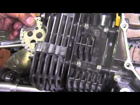 TVS 160 arme y desarme del motor
