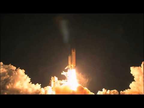 space shuttle landing at night - photo #9