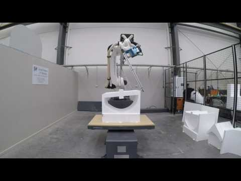 Robotic Hot-Wire Cutting with SprutCAM Robot OLP and KUKA KR120