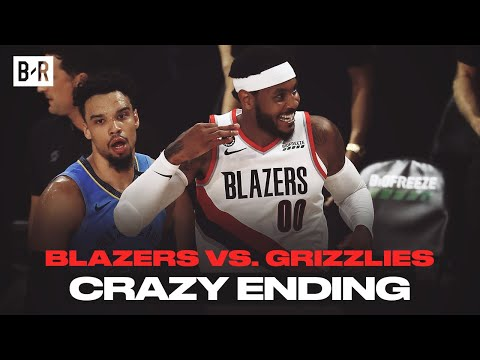 Carmelo Anthony Shines In Wild OT Finish | Blazers vs. Grizzlies