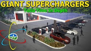 Tesla Time News - In Depth: GIANT Superchargers
