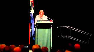 Politician Ann Bressington Exposes Australian Government | October 2014