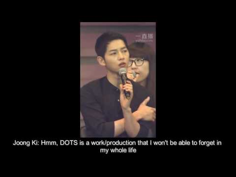 [ENGSUB] 160528 Song Joong Ki's Fanmeeting in Shenzhen, China - Talking about Descendants Of The Sun