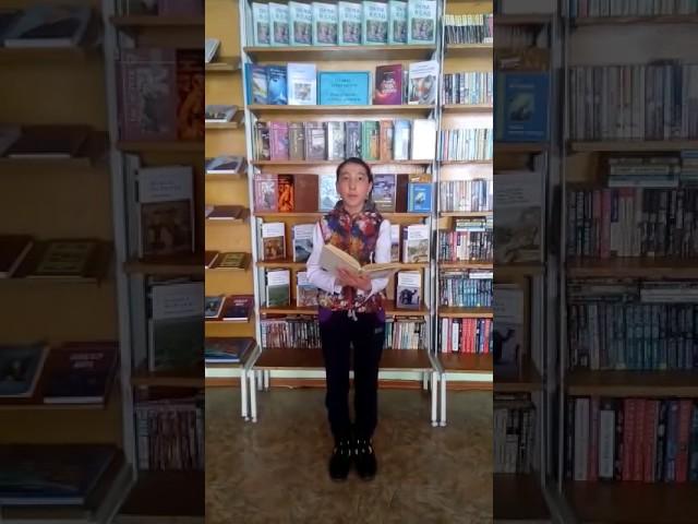Изображение предпросмотра прочтения – АнияЖунусова читает произведение «Весенняя гроза (Люблю грозу вначале мая…)» Ф.И.Тютчева