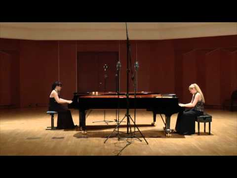A. Scriabin  tasy in A minor for 2 pianos Sumlinska & Findysz Piano Duo