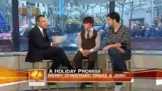 Drake & Josh On The Today Show!