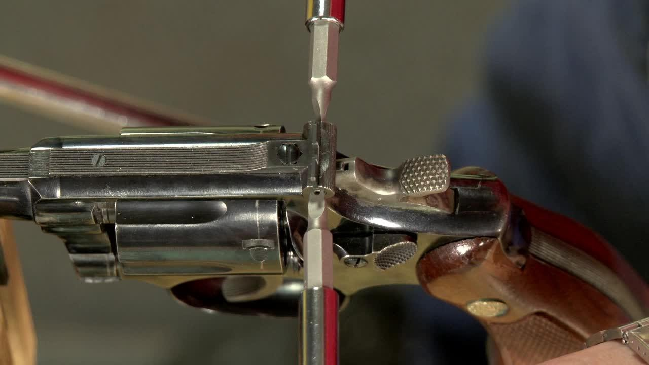 Gunsmithing How To Install A Rear Sight Blade On A Smith
