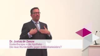 Hustentherapie in der Apotheke - Wunderwaffe gegen Antibiotikaresistenz? (Dr. Justus de Zeeuw)