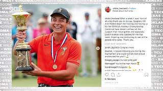 Viktor Hovland Set To Compete At Augusta: Big 12 In 60