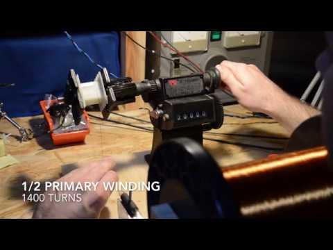 How to wind Fender 5e3 Output Transformer