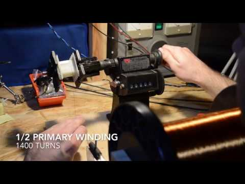 How to wind Fender 5e3 Output Transformer
