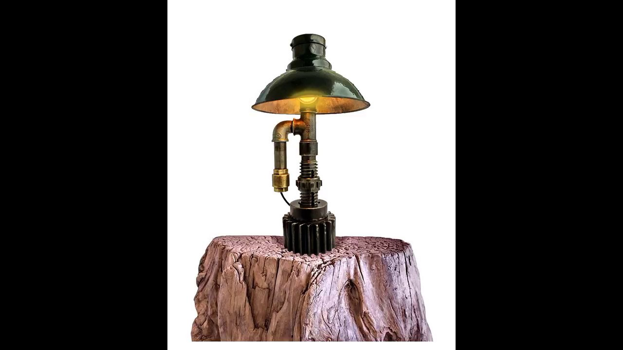 Steampunk Lighting table Lamps industrial lamp steampunk lamp