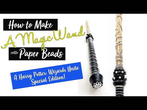 How to Make a Harry Potter Wizards Unite Wand
