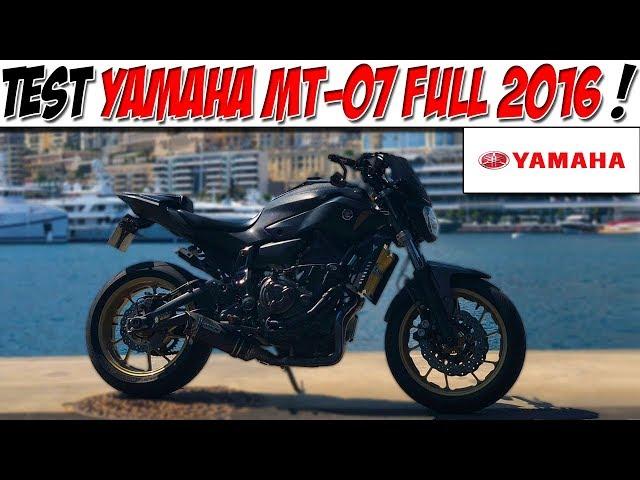 #Moto Vlog 144 : TEST YAMAHA MT 07 FULL / Une MT pas comme les autres ! 😈