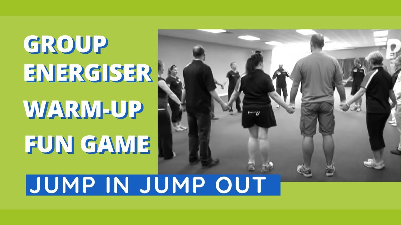 Group Energiser, Warm-Up, Fun Game – Jump In Jump Out