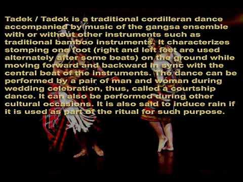 Tadek / Tadok (Taddok) - Gangsa Musical Application - Cordillera Music Instrument