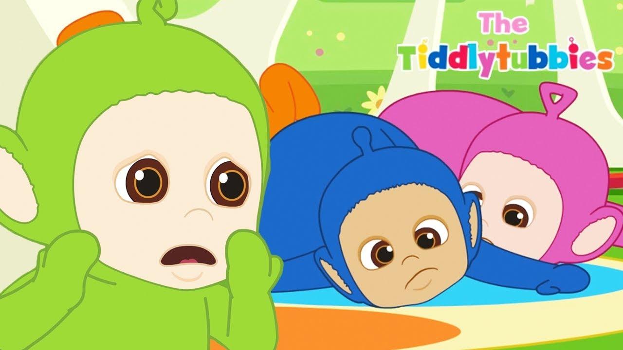 Teletubbies ☆ NEW Tiddlytubbies 2D Series! ☆ Episode 4  Sleeping Mat  Carousel ☆ Videos For Kids b62bd2fb2cf1