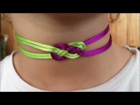 collier ras de cou shamballa