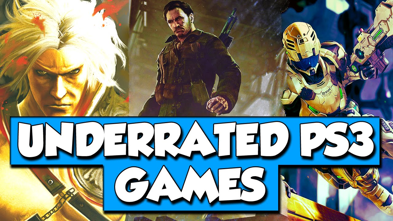 Top 10 MOST UNDERRATED PS3 Games - YouTube