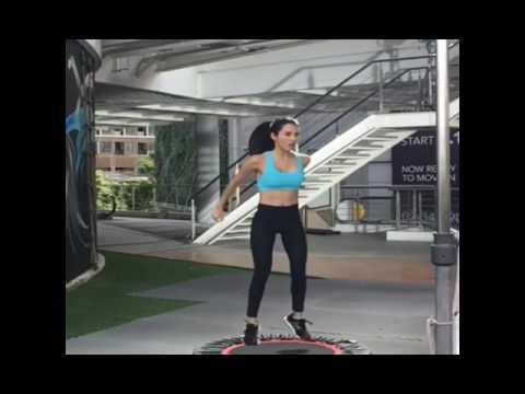 Smaller waist bigger hips workout/fat burning yoga fitness blender