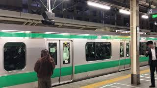 平日深夜の混雑差 埼京線川越行発車