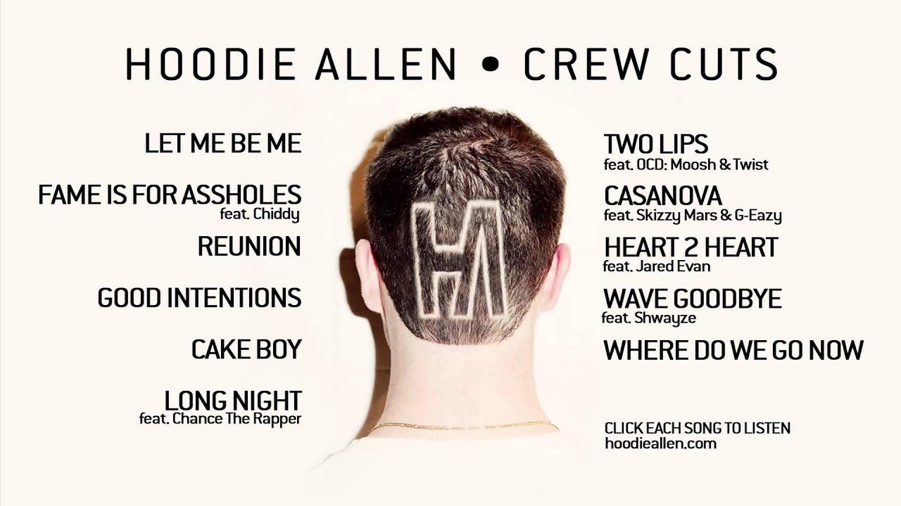 Crew cuts hoodie