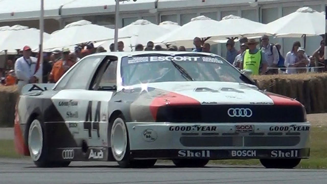 Audi Quattro Trans Am INSANE Cylinder SOUND YouTube - Audi 5 car