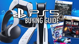 PS5 Buying Guide: Accessories, Launch Games, Consoles - What To Buy, And What To Avoid!