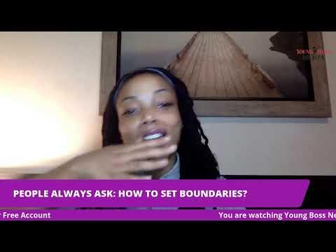 People Always Ask: How to Set Boundaries?