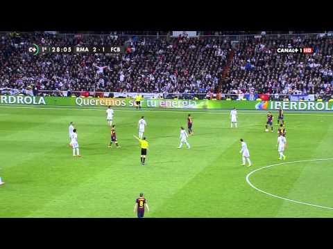 La Liga - Real Madrid vs Barcelona 3 - 4 / 1er Tiempo [23-03-2014]