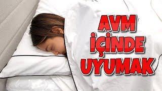 AVM İçinde Uyumak (Yeni Odam İçin Alışveriş) Melike Elif