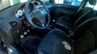 Detalhes internos Peugeot 206SW